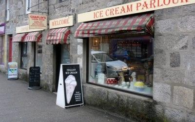 Chaplin's Coffee House, Grantown on Spey